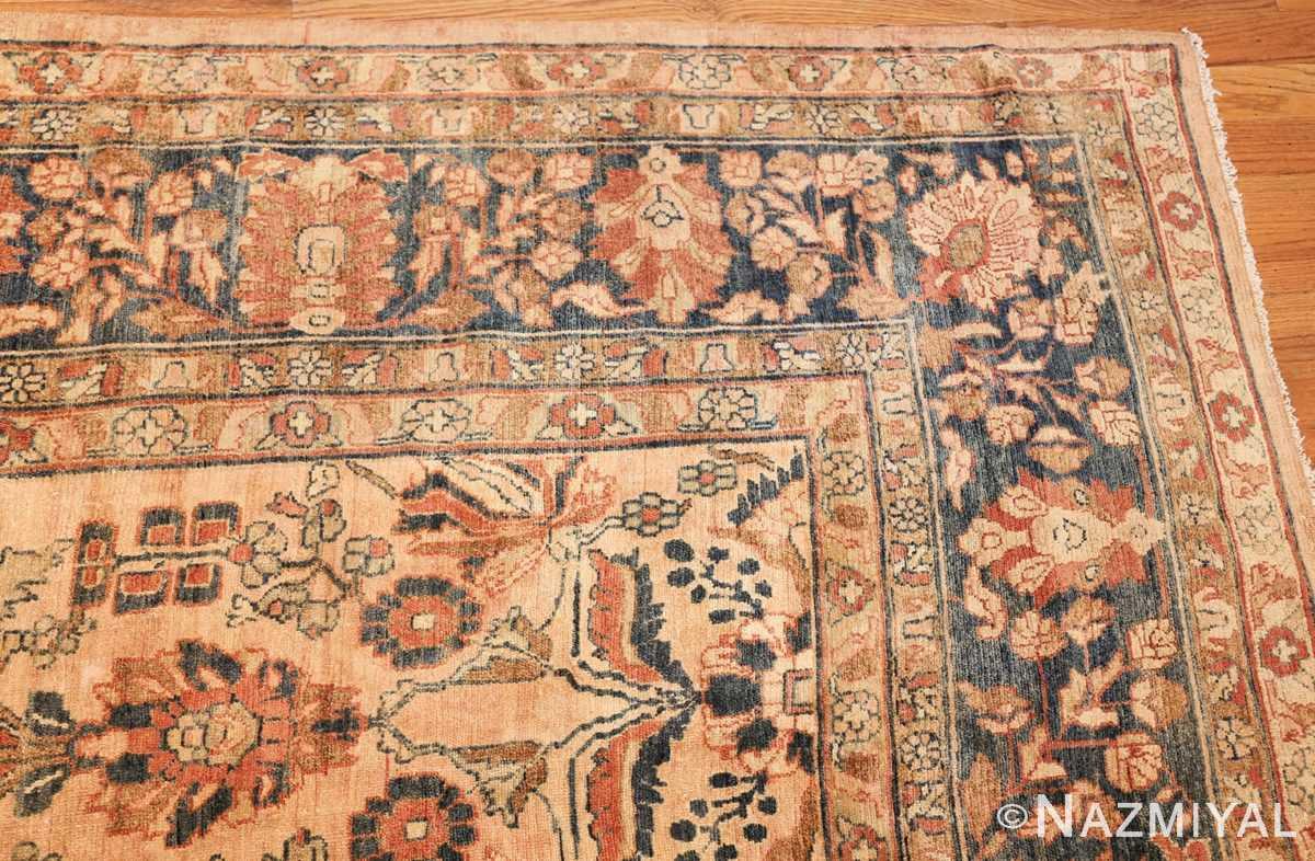 antique persian lilihan carpet 50191 corner Nazmiyal
