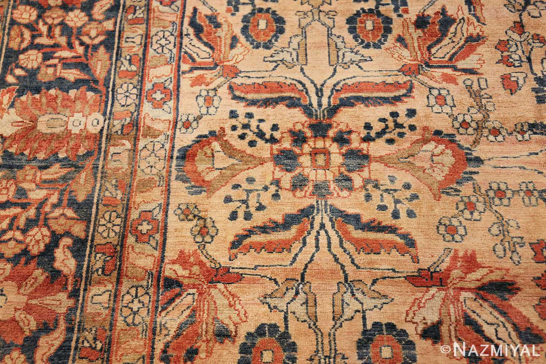 antique persian lilihan carpet 50191 design Nazmiyal