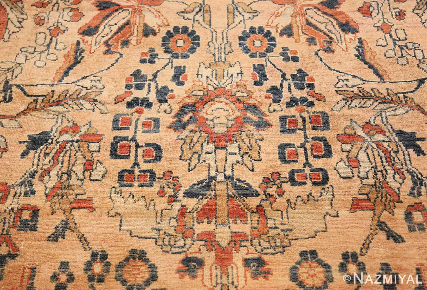antique persian lilihan carpet 50191 scrolls Nazmiyal