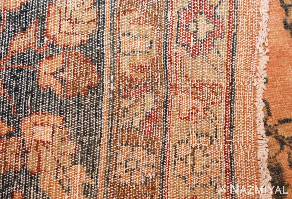 antique persian lilihan carpet 50191 weave Nazmiyal