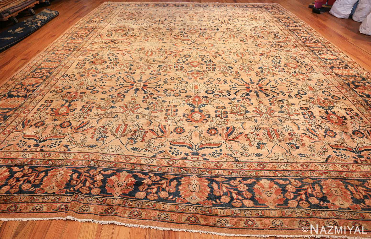antique persian lilihan carpet 50191 whole Nazmiyal