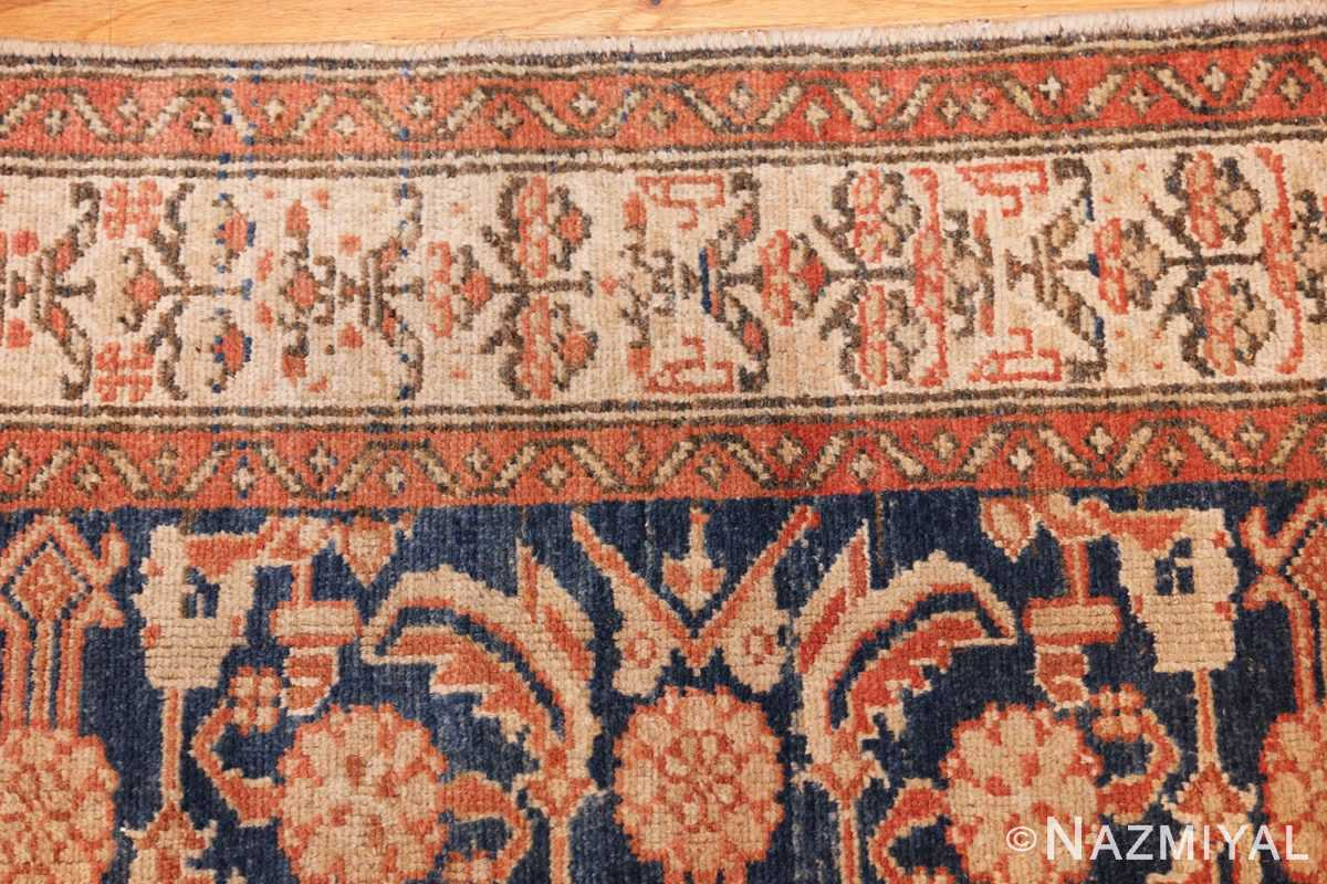 antique persian malayer hallway runner rug 50174 border Nazmiyal