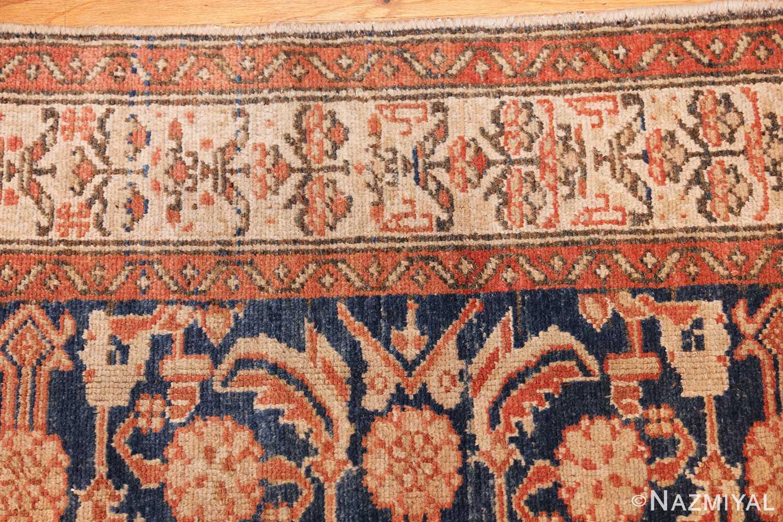 antique persian malayer hallway runner rug 50174 border Nazmiyal