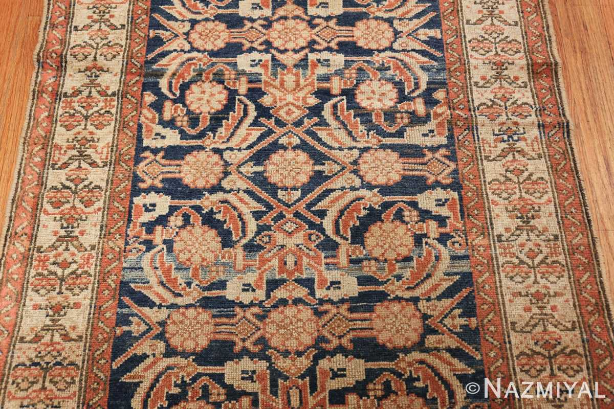 antique persian malayer hallway runner rug 50174 design Nazmiyal