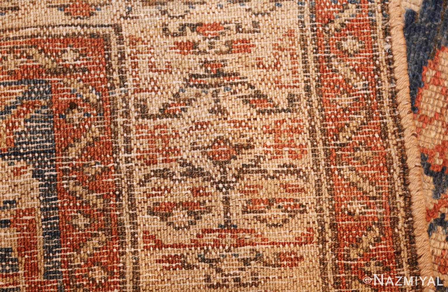 antique persian malayer hallway runner rug 50174 weave Nazmiyal