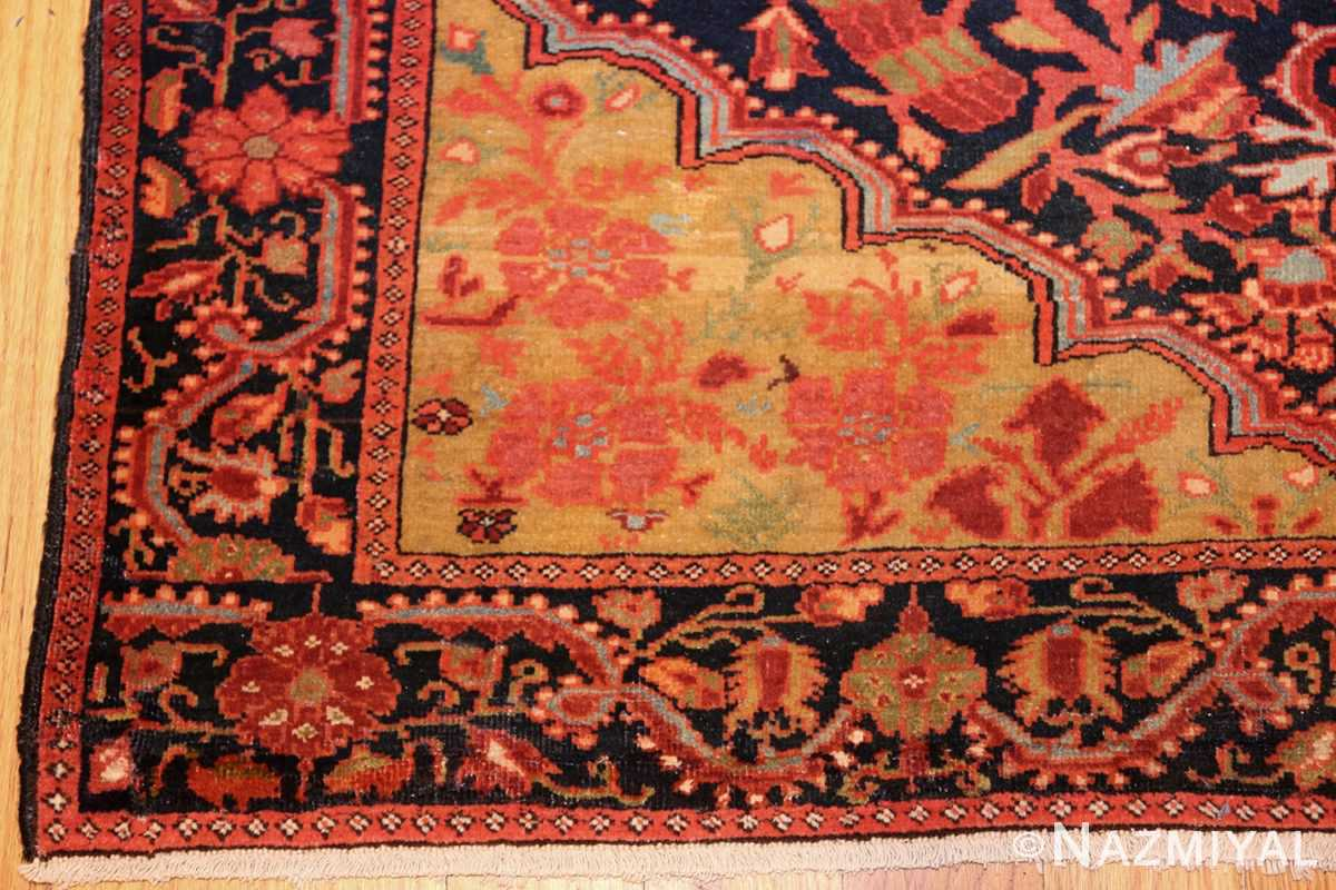 antique persian sarouk farahan carpet 50240 corner Nazmiyal