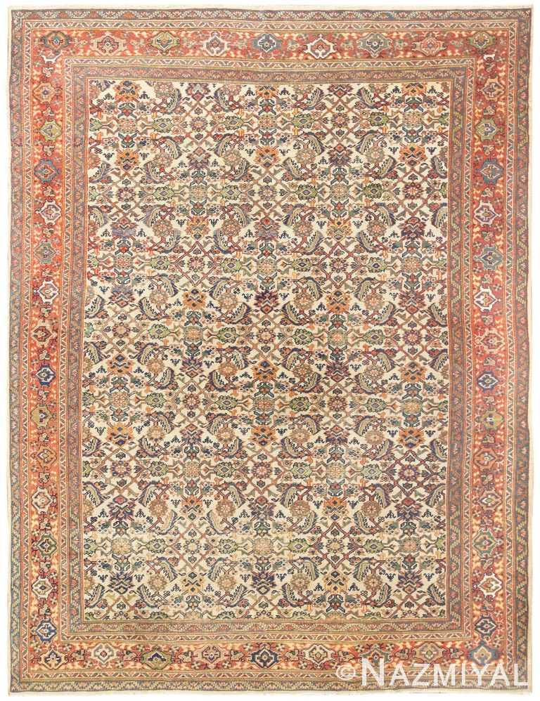 Antique Persian Sultanabad Carpet 50248 Nazmiyal