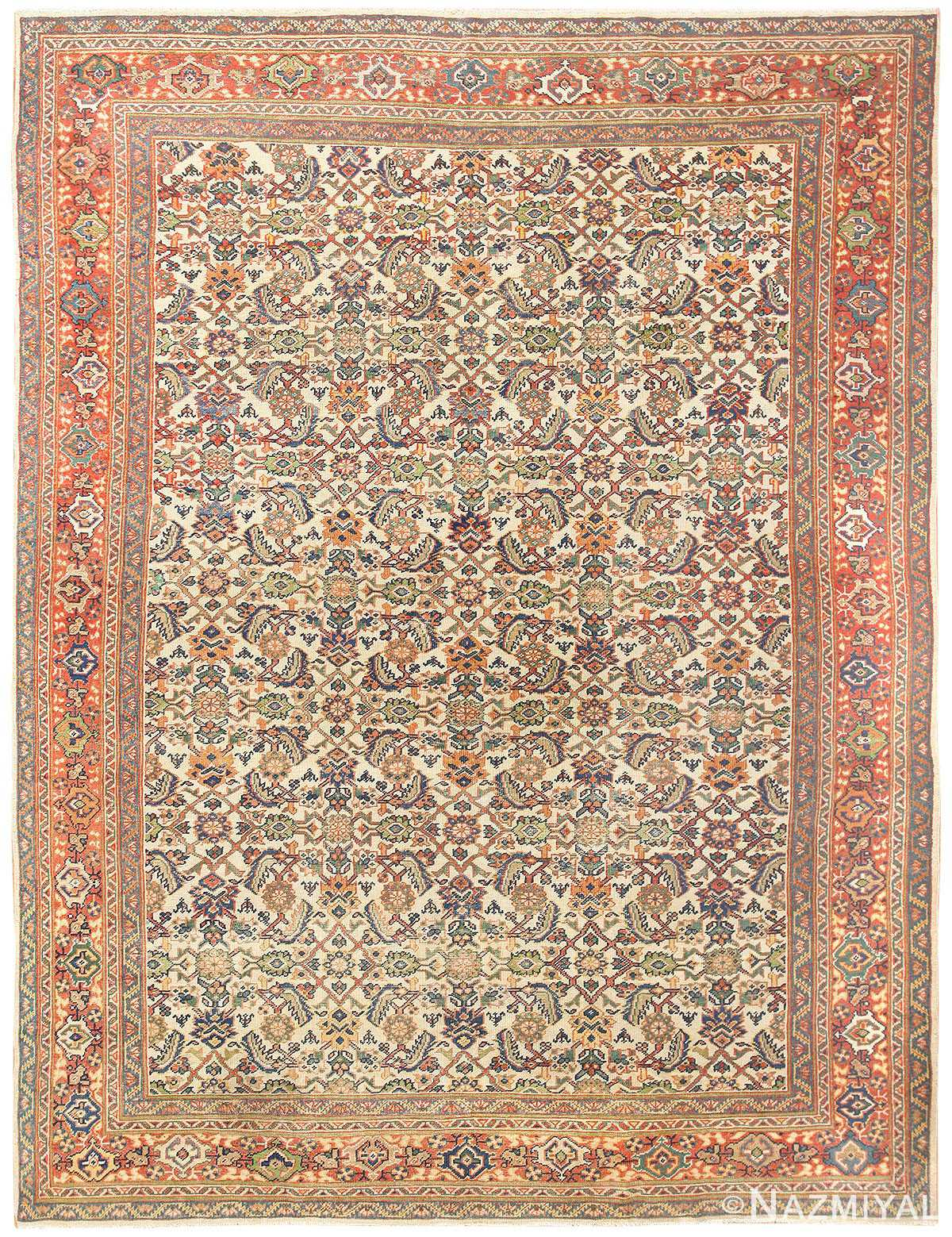 Antique Persian Sultanabad Carpet 50248 Nazmiyal