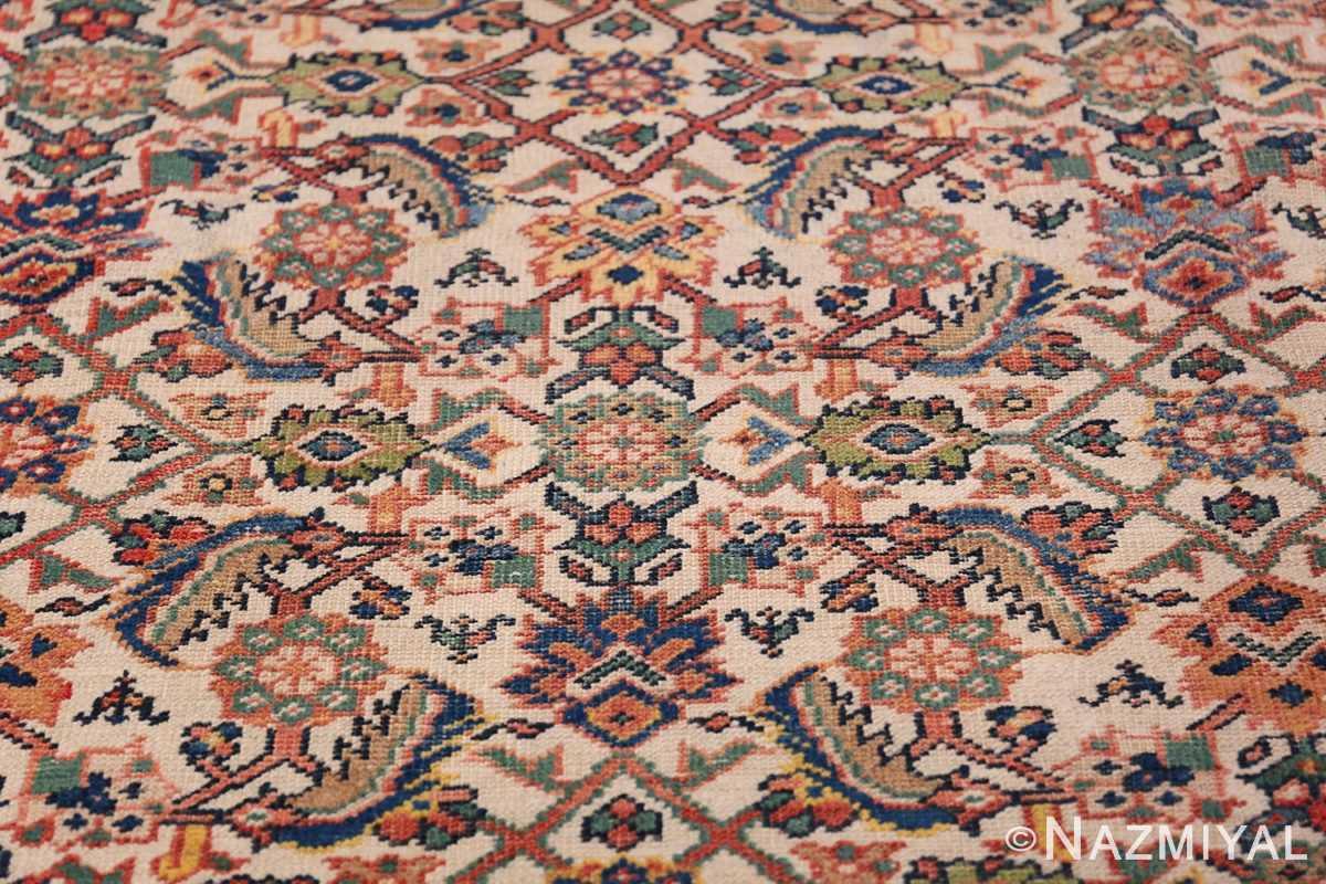 Antique Persian Sultanabad Carpet 50248 Floral Design Nazmiyal