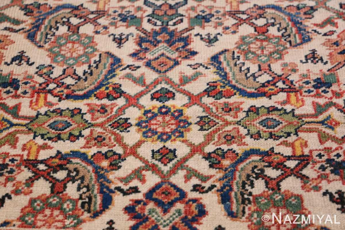 Antique Persian Sultanabad Carpet 50248 Lower Design Nazmiyal