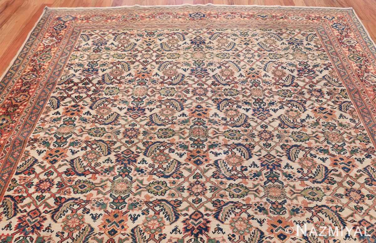 Antique Persian Sultanabad Carpet 50248 Top Design Nazmiyal