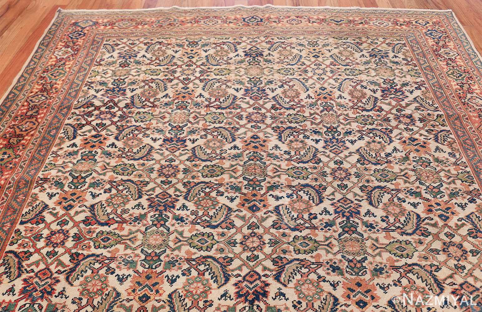 Antique Persian Sultanabad Carpet 50248 Top Design Nazmiyal