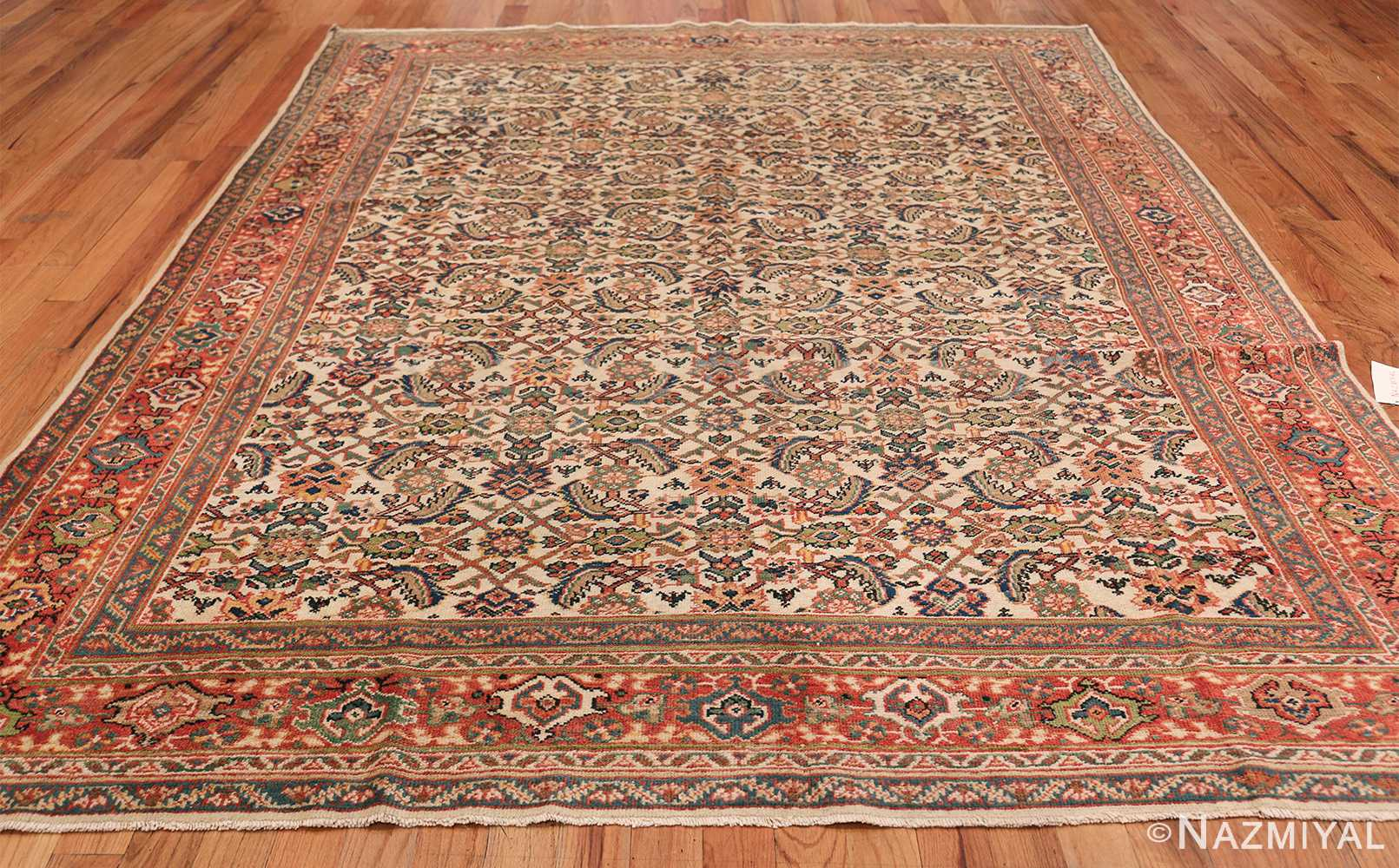 Antique Persian Sultanabad Carpet 50248 Whole Design Nazmiyal