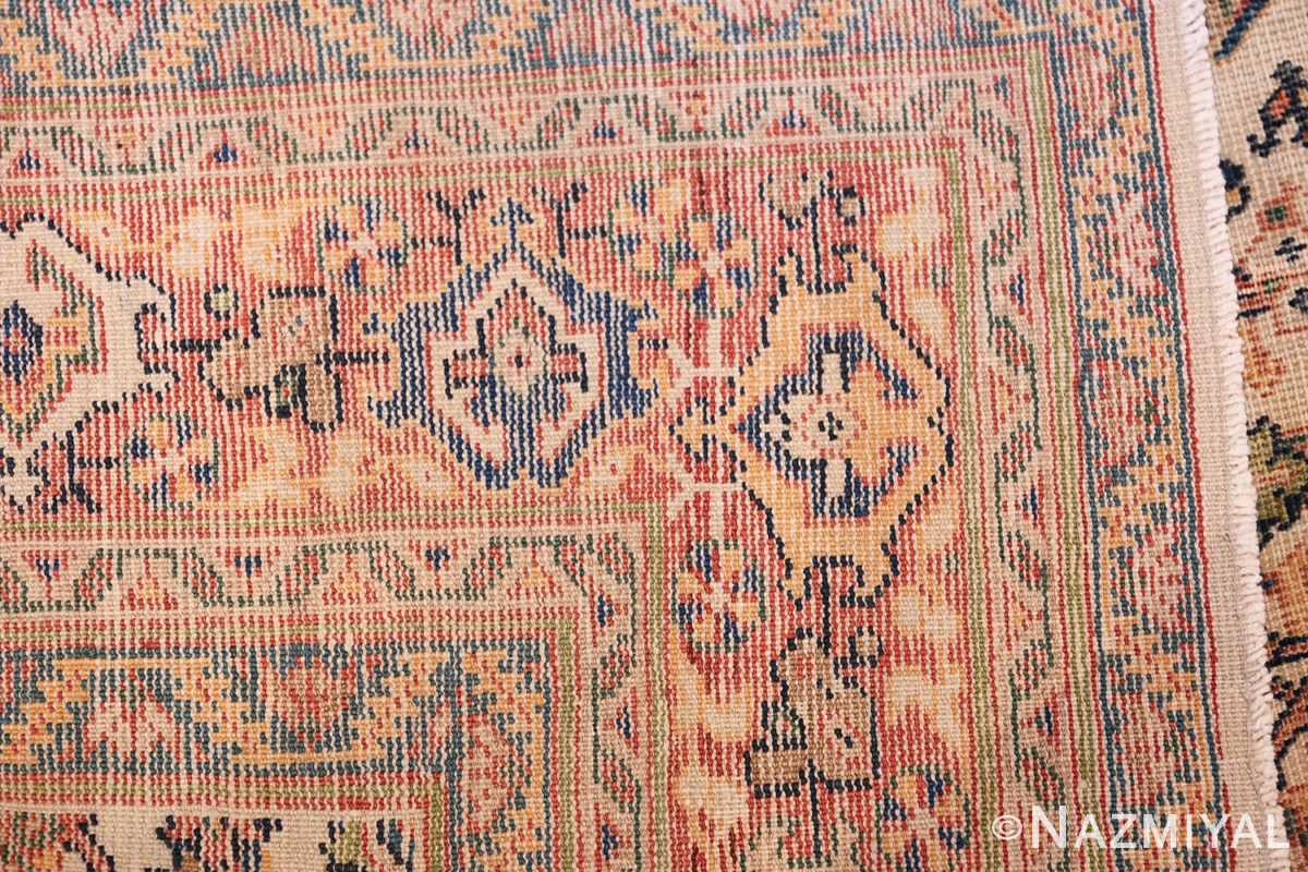 Antique Persian Sultanabad Carpet 50248 Woven Knots Nazmiyal