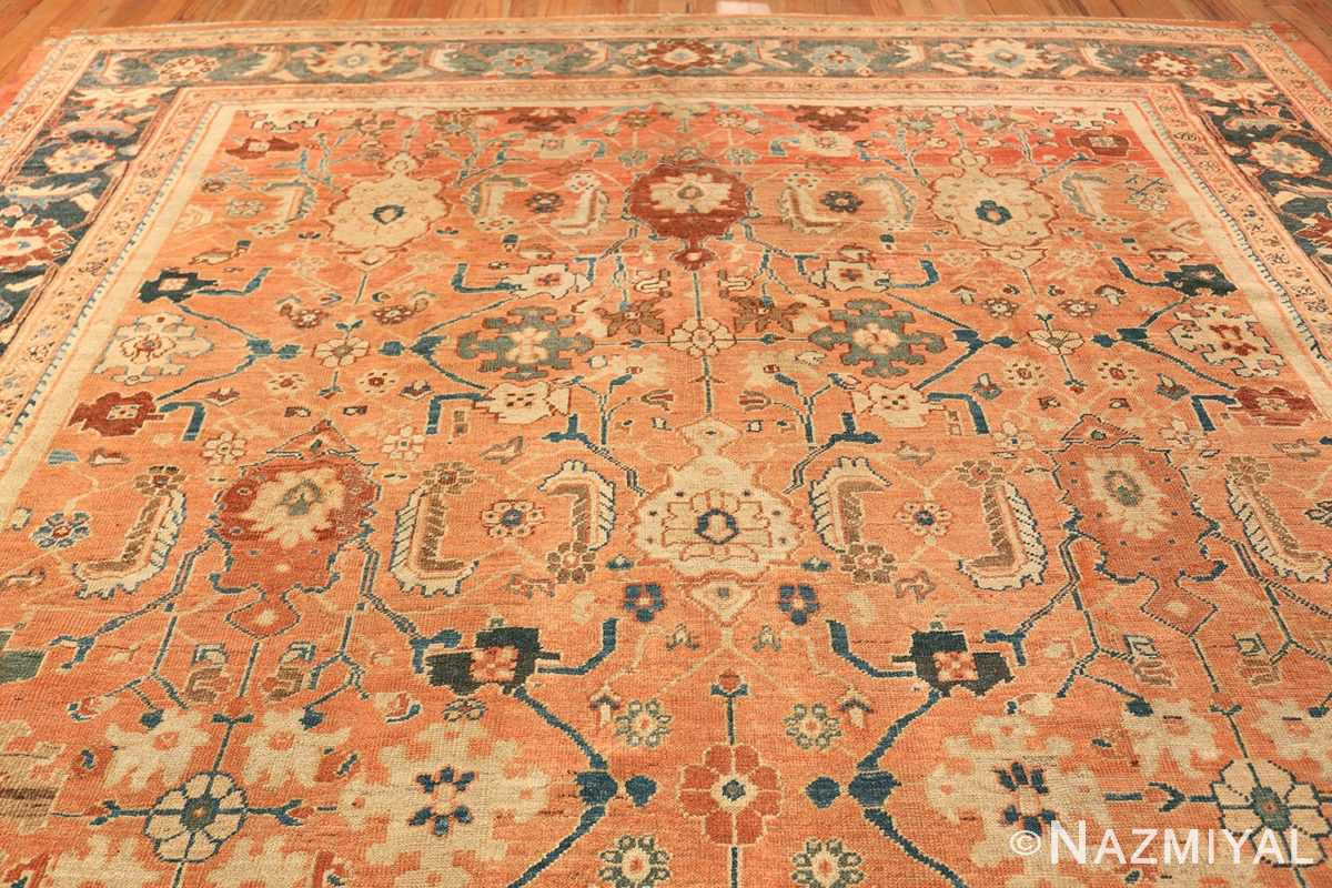 Antique Room Size Persian Sultanabad Rug 50004 Top Design Nazmiyal