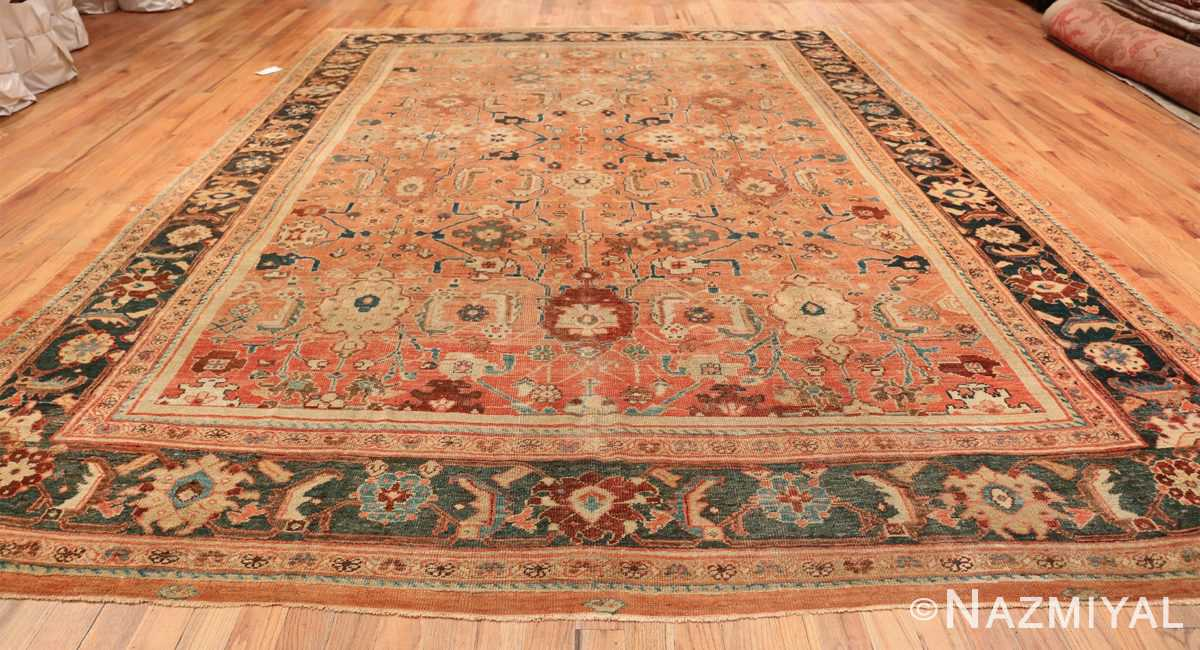 Antique Room Size Persian Sultanabad Rug 50004 Whole Design Nazmiyal