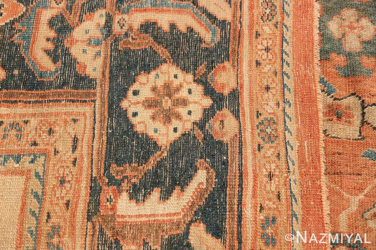 Antique Room Size Persian Sultanabad Rug 50004 Woven Knots Nazmiyal