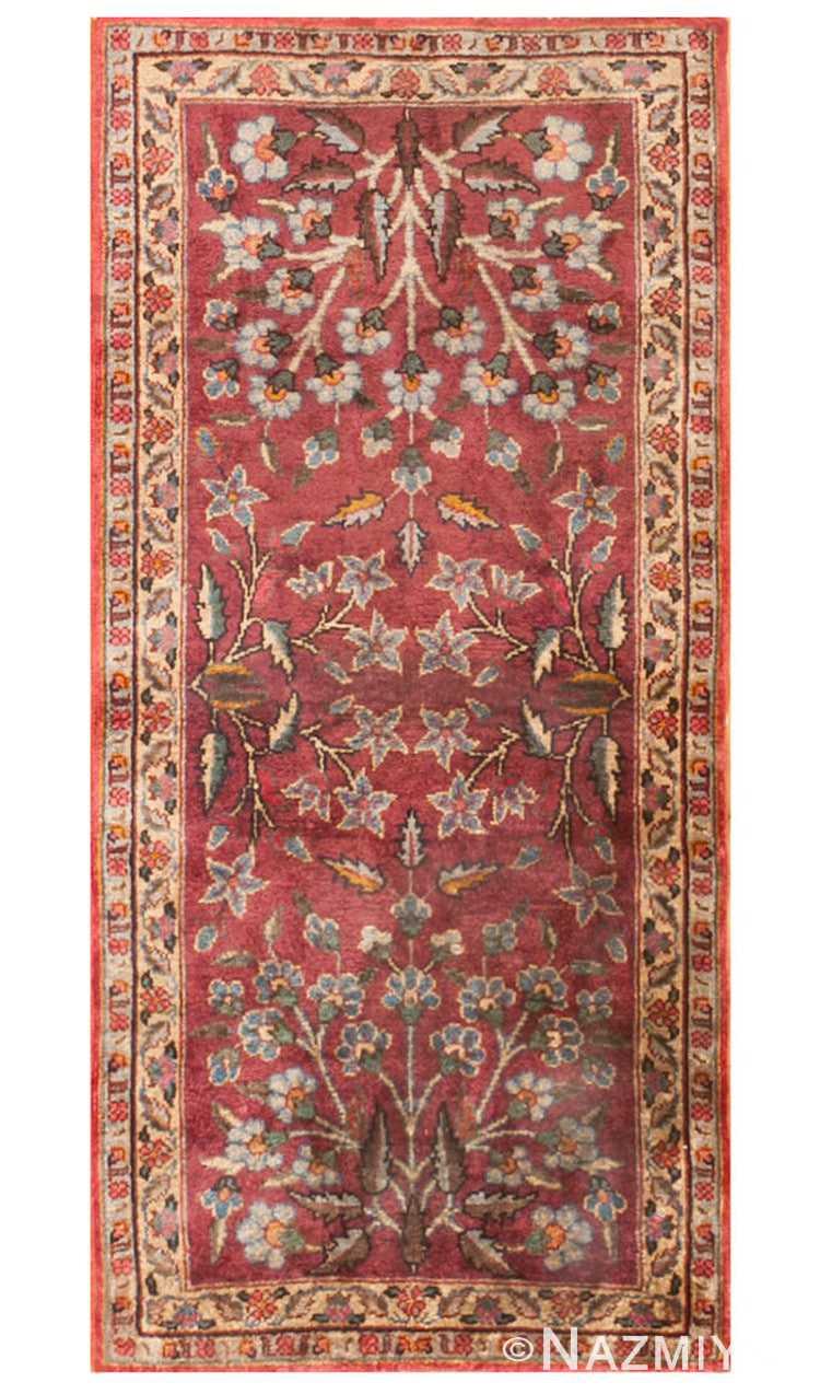 Antique Silk Turkish Rug 47223 Detail/Large View