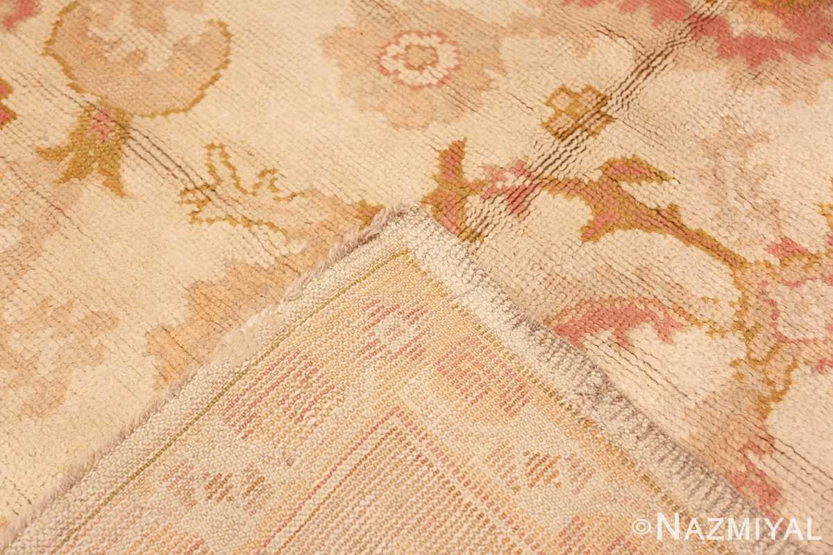 Back Large decoration Antique Turkish Oushak rug 48473 by Nazmiyal