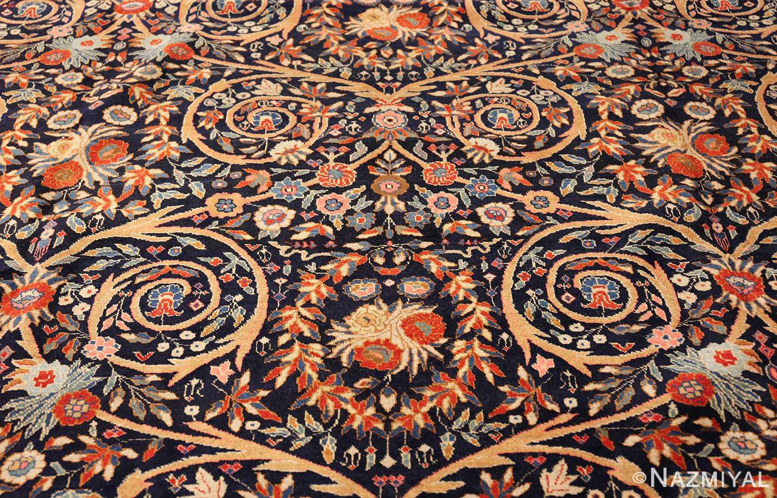 beautiful antique persian tabriz carpet 48568 field Nazmiyal
