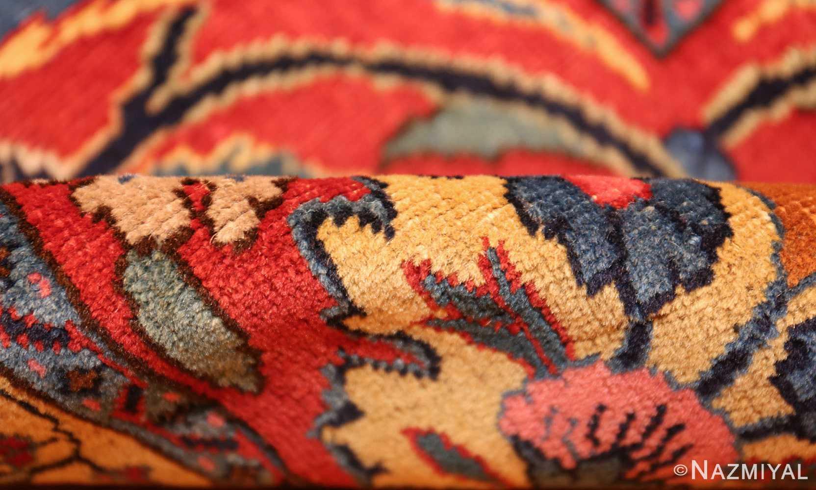 beautiful antique persian tabriz carpet 48568 pile Nazmiyal