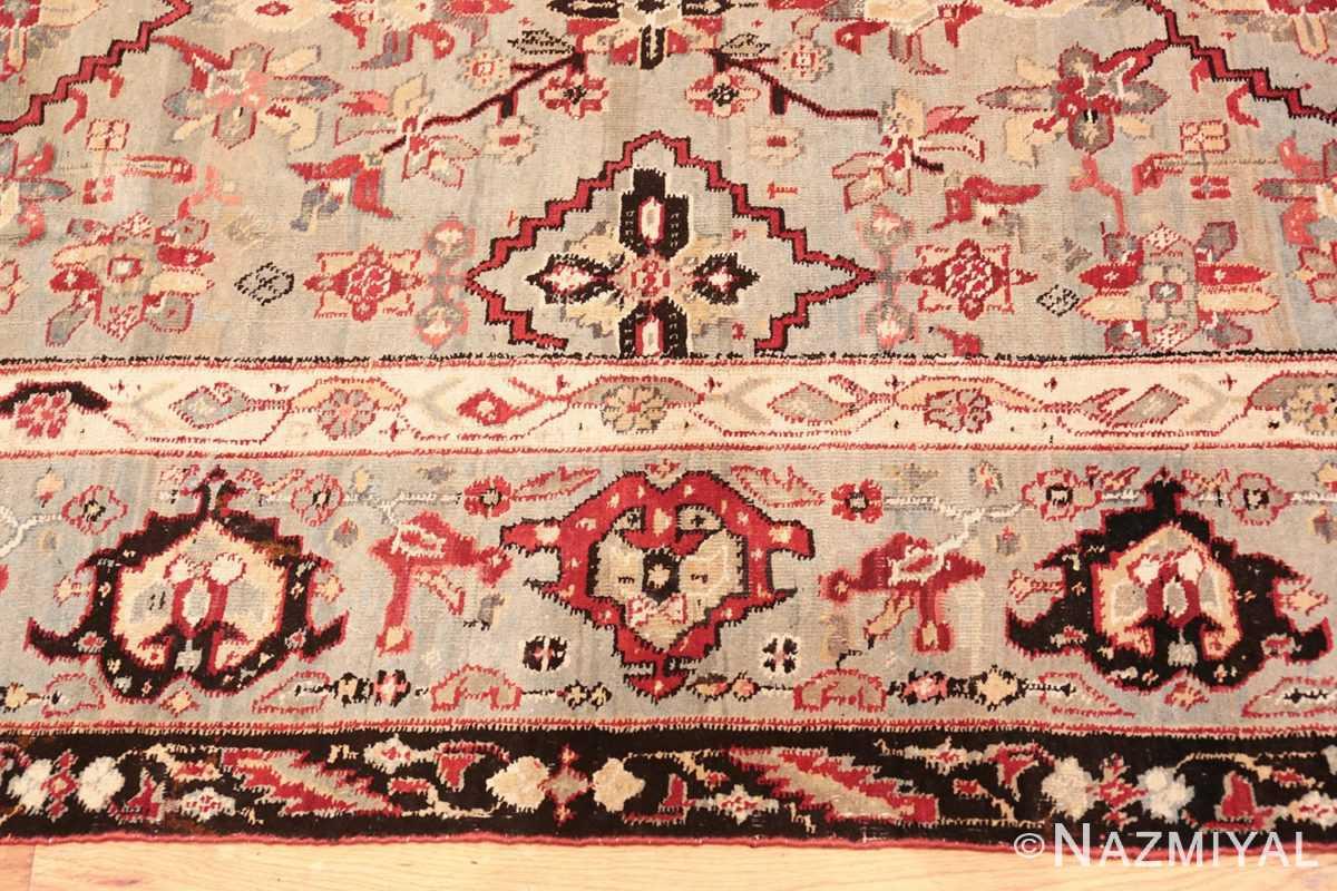 Border Antique Indian Agra rug 2983 by Nazmiyal