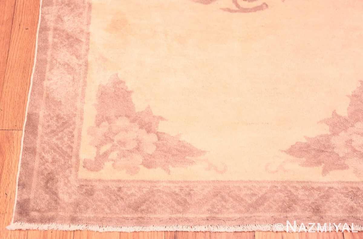 Corner Antique Chinese Carpet 47198 by Nazmiyal