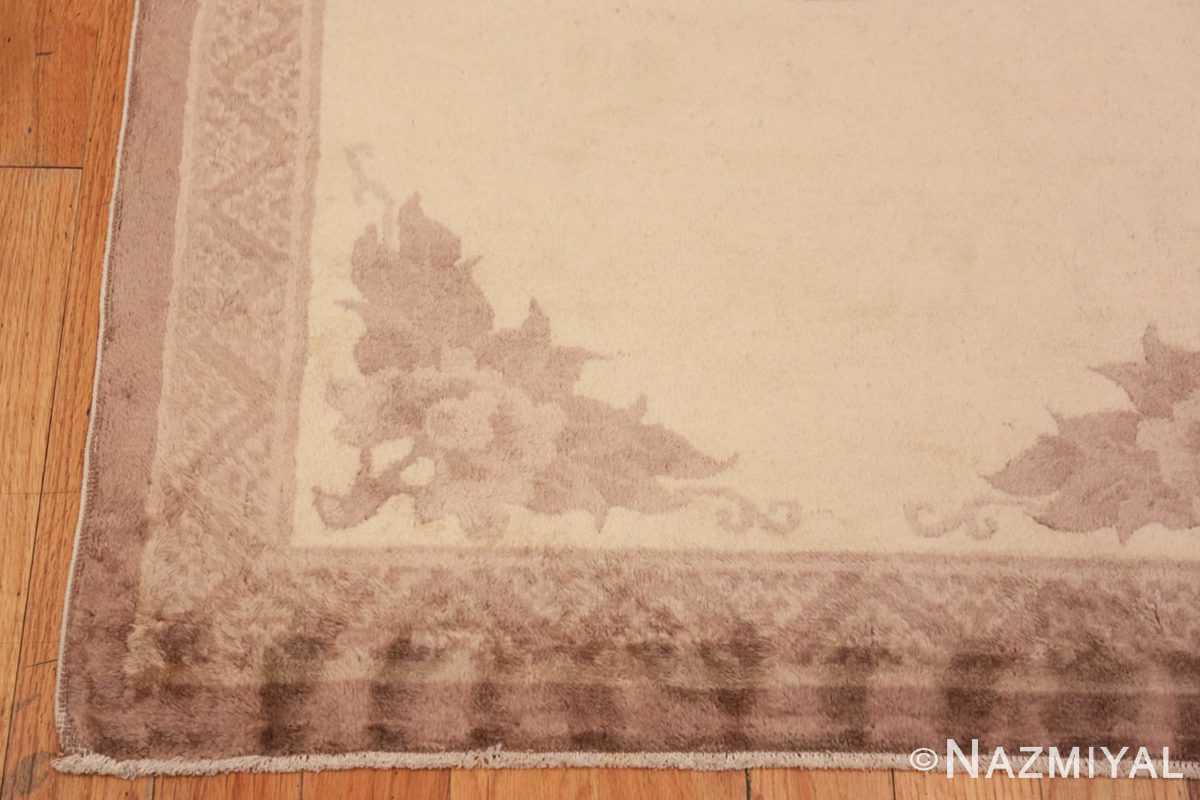Corner Decorative Small Antique Chinese Carpet 47199 by Nazmiyal