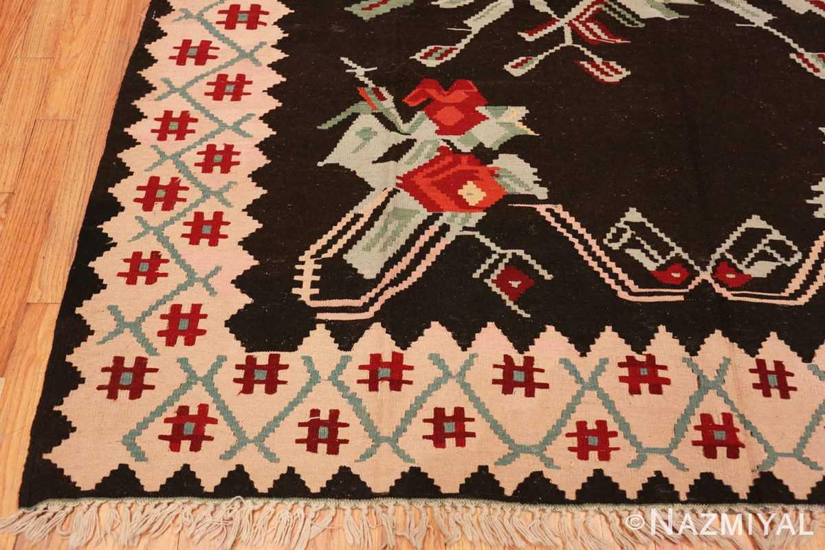 Corner Vintage Turkish Kilim 50323 by Nazmiyal