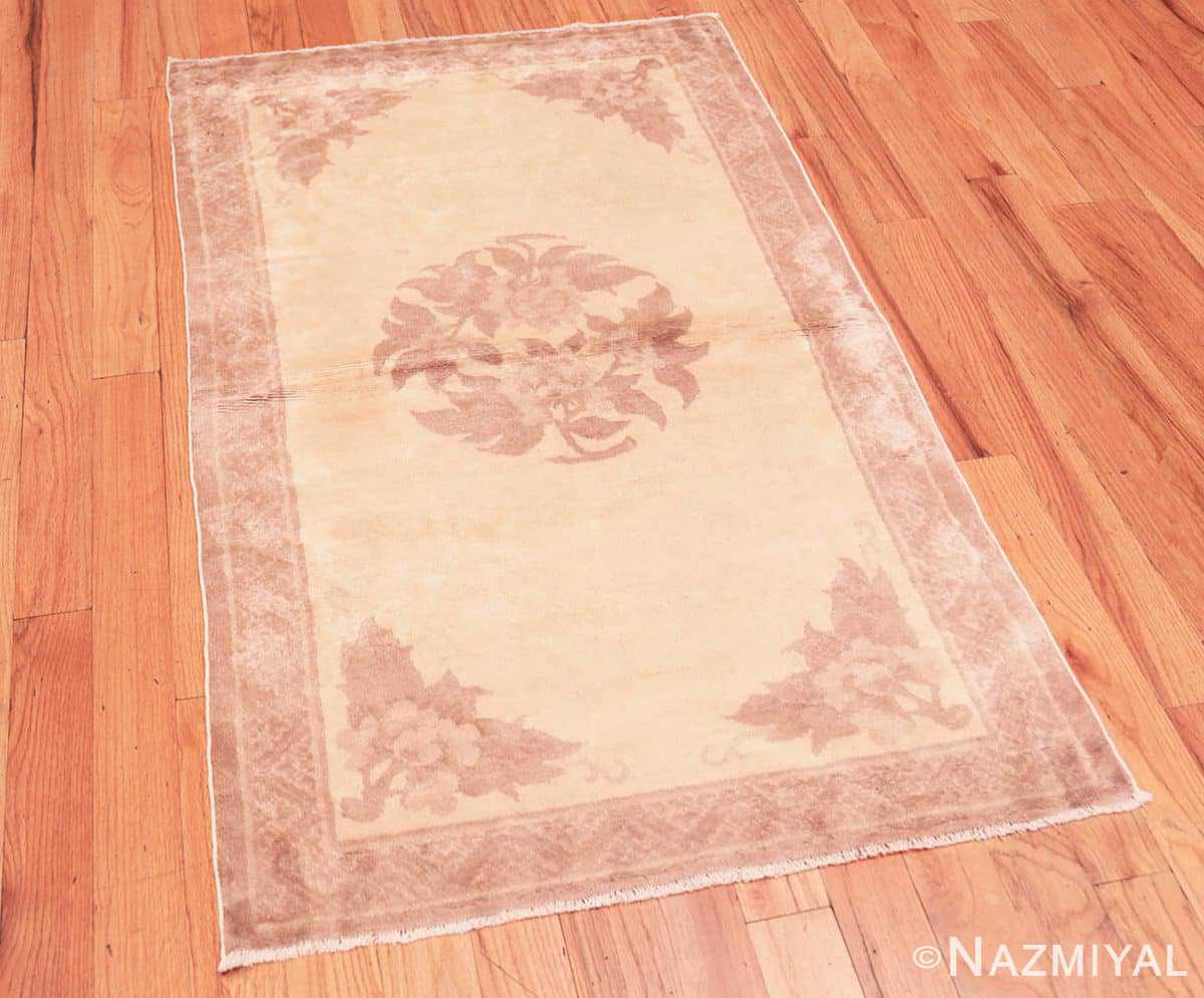 Full Antique Chinese Carpet 47198 by Nazmiyal