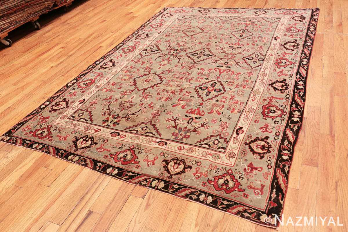Full Antique Indian Agra rug 2983 by Nazmiyal