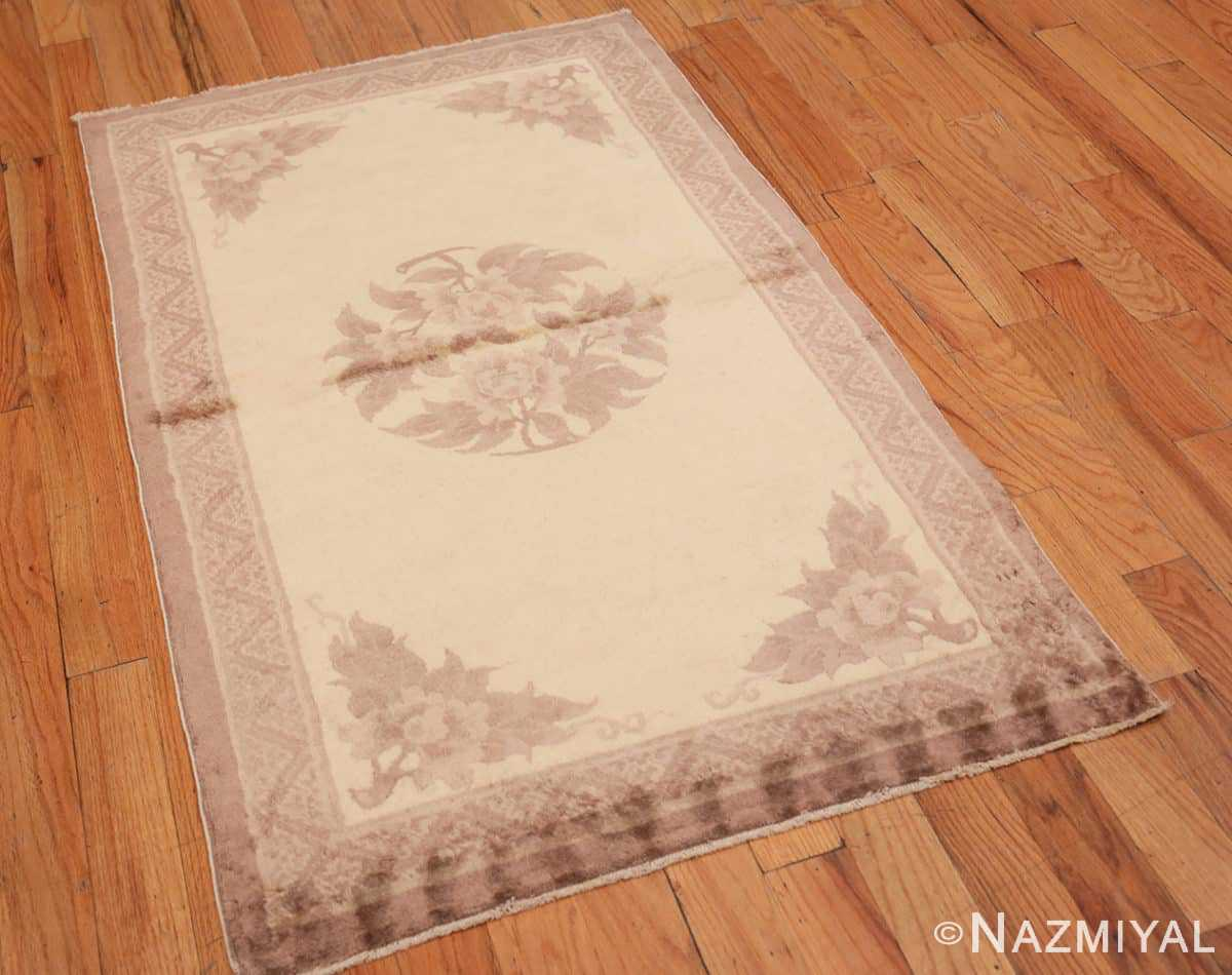 Full Decorative Small Antique Chinese Carpet 47199 by Nazmiyal
