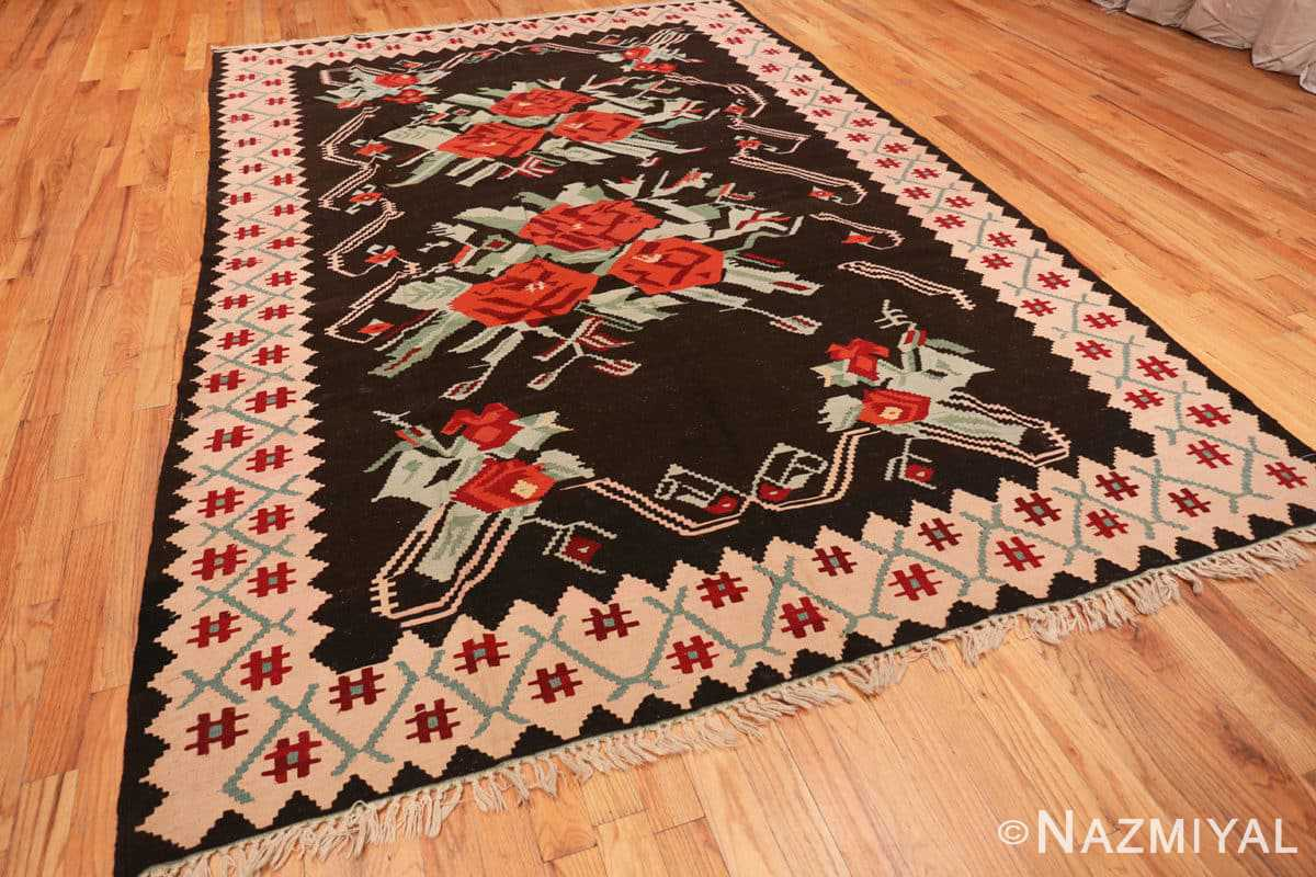 Full Vintage Turkish Kilim 50323 by Nazmiyal