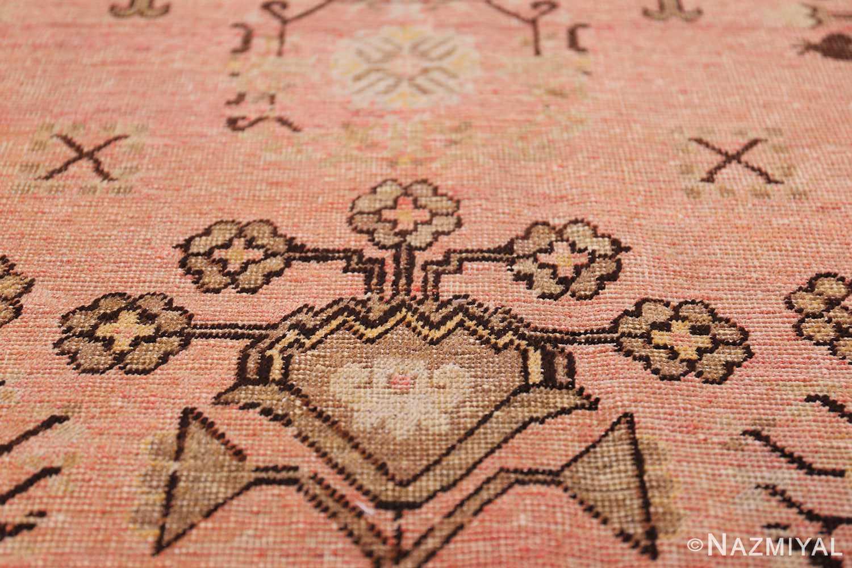 Gallery Size Antique Khotan Rug 50328 Flower Bunch Nazmiyal