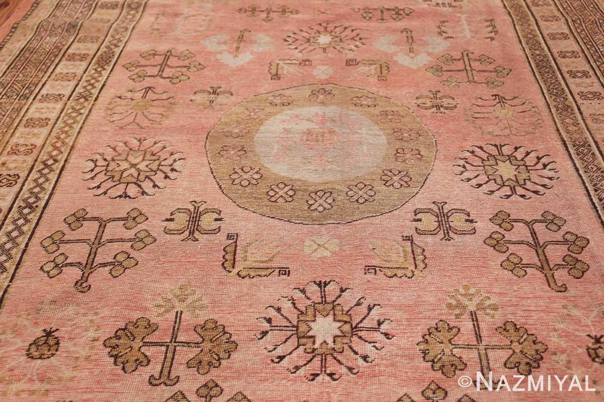 Gallery Size Antique Khotan Rug 50328 Middle Part Nazmiyal