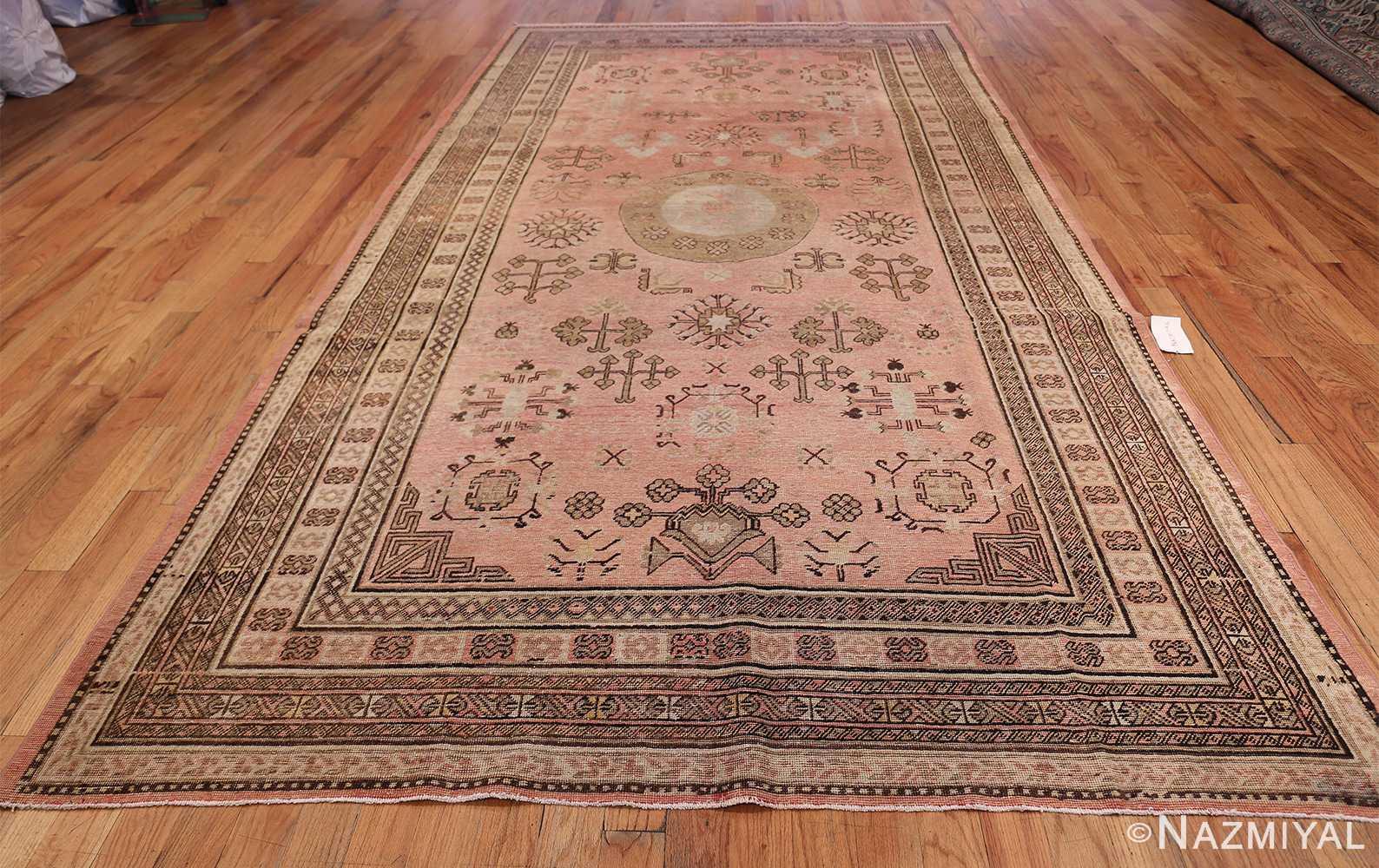 Gallery Size Antique Khotan Rug 50328 Whole Design Nazmiyal