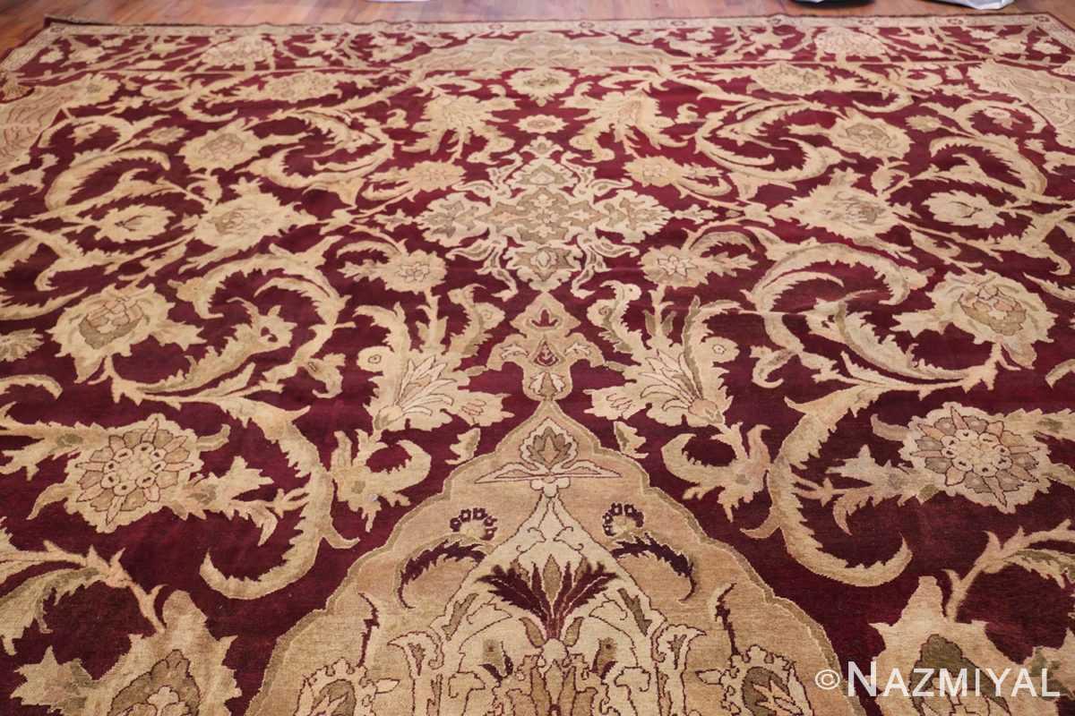 Large Antique Indian Agra Rug 44603 Top Design Nazmiyal