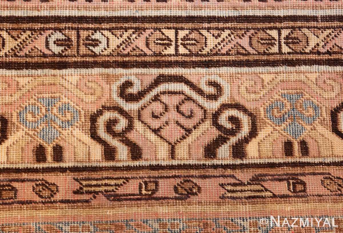 large antique khotan rug 50182 blue Nazmiyal