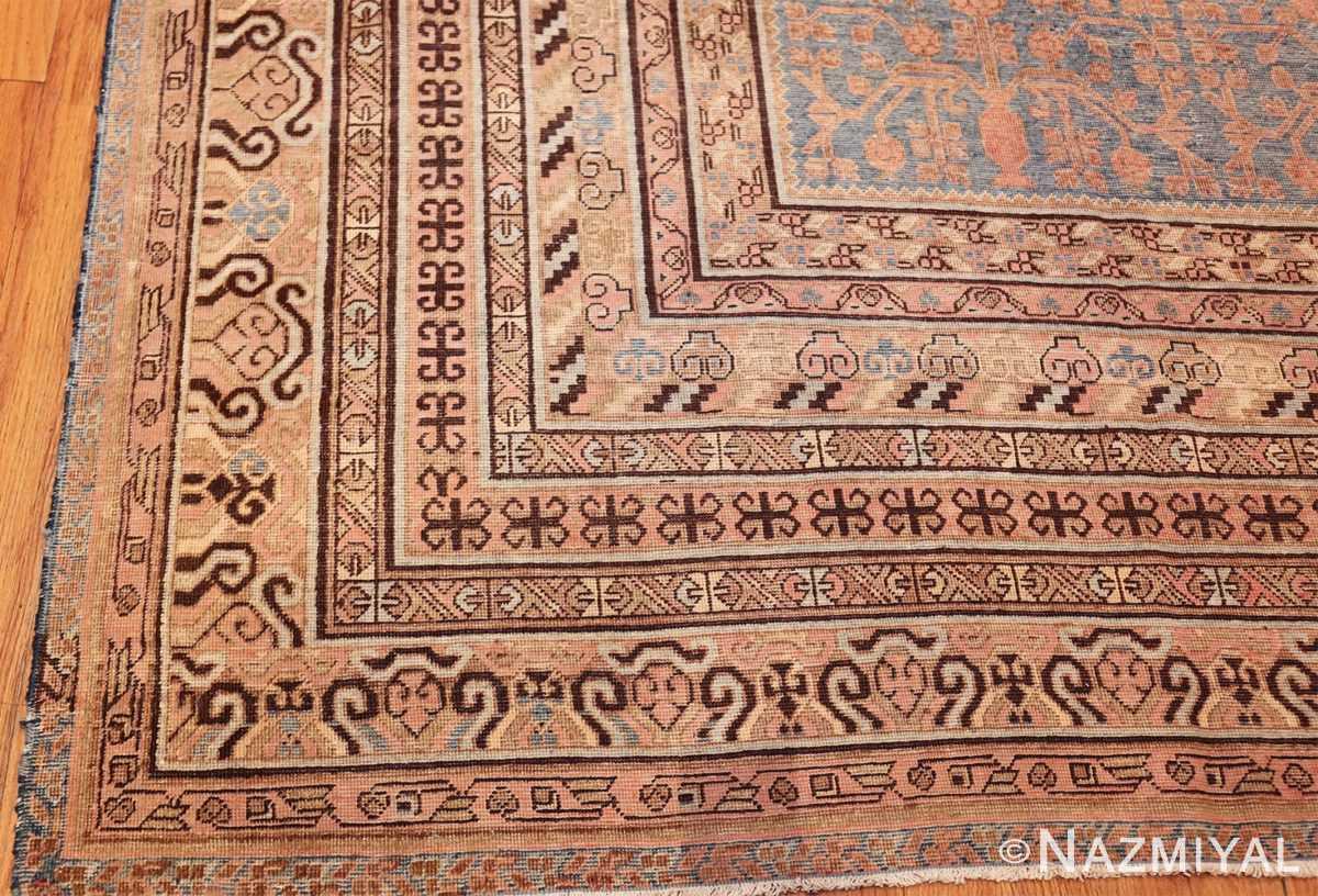 large antique khotan rug 50182 corner Nazmiyal
