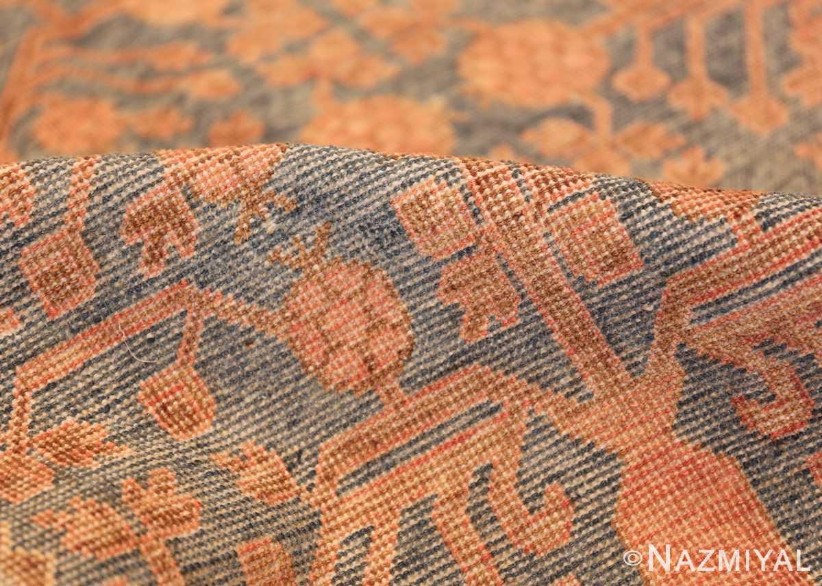 large antique khotan rug 50182 pile Nazmiyal