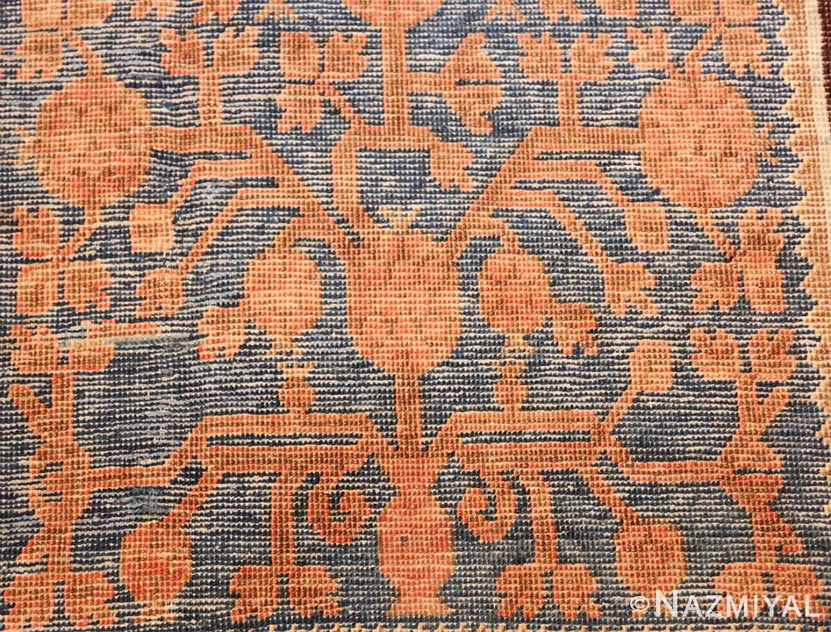 large antique khotan rug 50182 pomegranate Nazmiyal