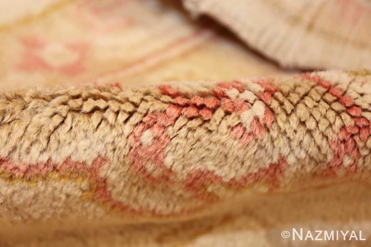 large decorative antique turkish oushak rug 48473 pile Nazmiyal