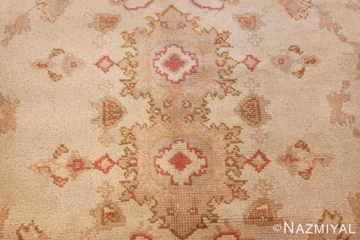 large decorative antique turkish oushak rug 48473 texture Nazmiyal
