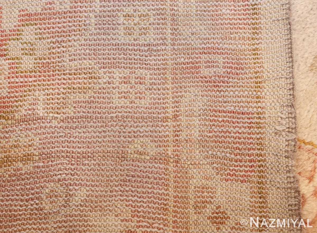 large decorative antique turkish oushak rug 48473 weave Nazmiyal
