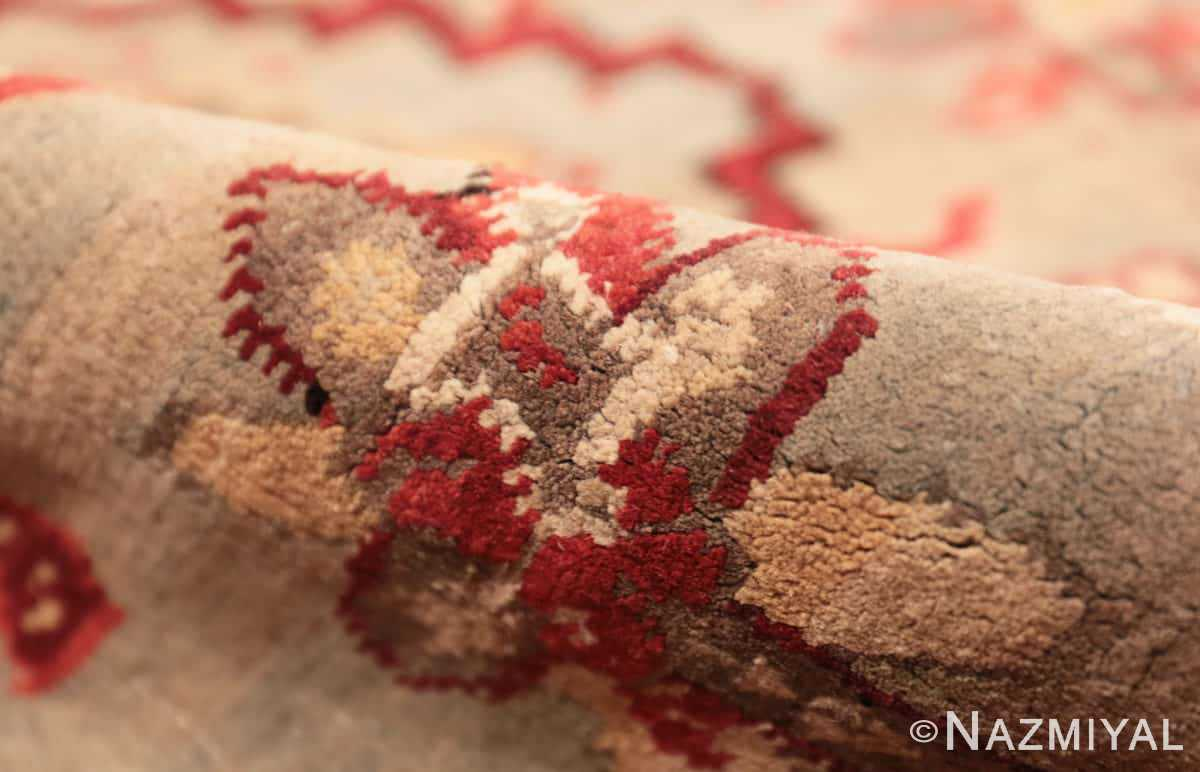 Pile Antique Indian Agra rug 2983 by Nazmiyal