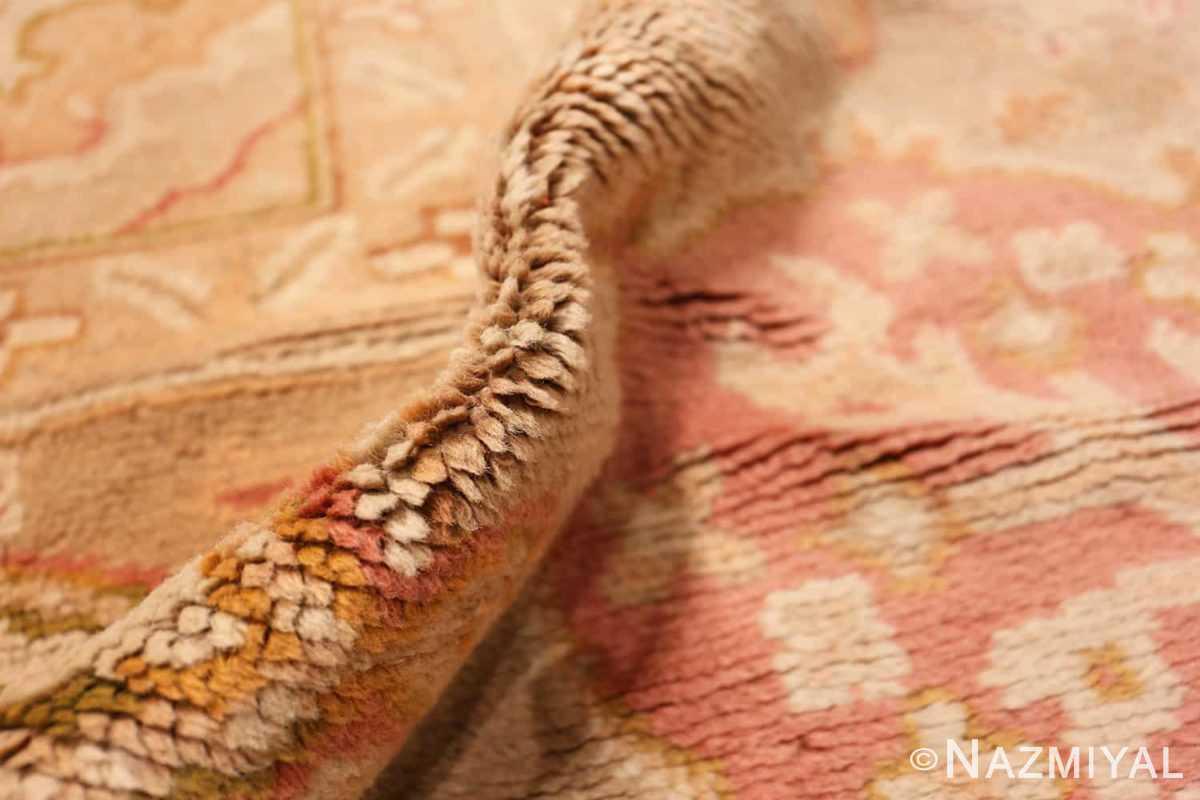 Pile Large decoration Antique Turkish Oushak rug 48473 by Nazmiyal