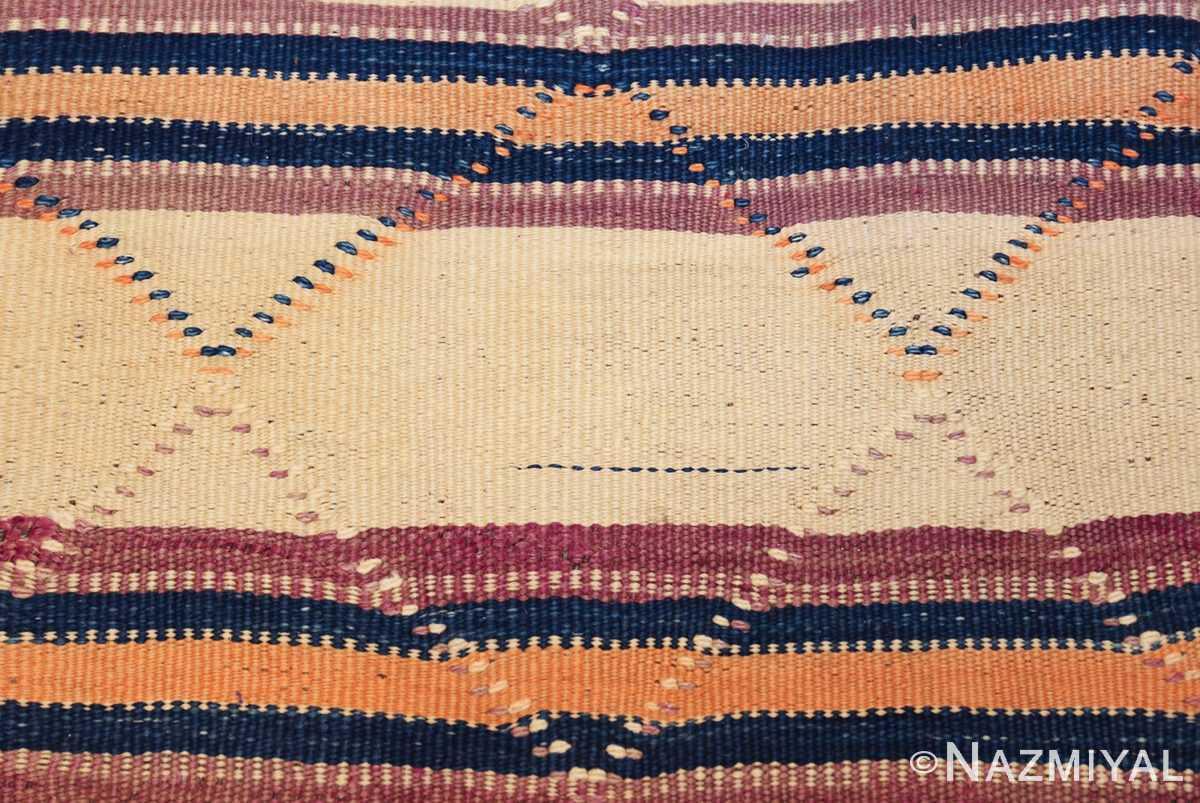 vintage moroccan kilim 46467 color Nazmiyal