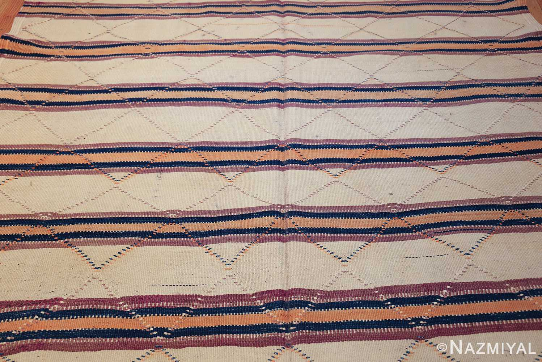 vintage moroccan kilim 46467 field Nazmiyal