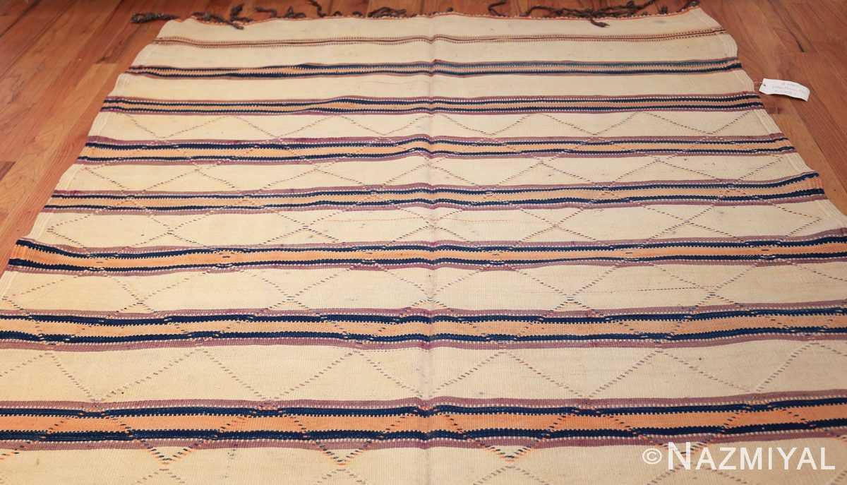 vintage moroccan kilim 46467 top Nazmiyal