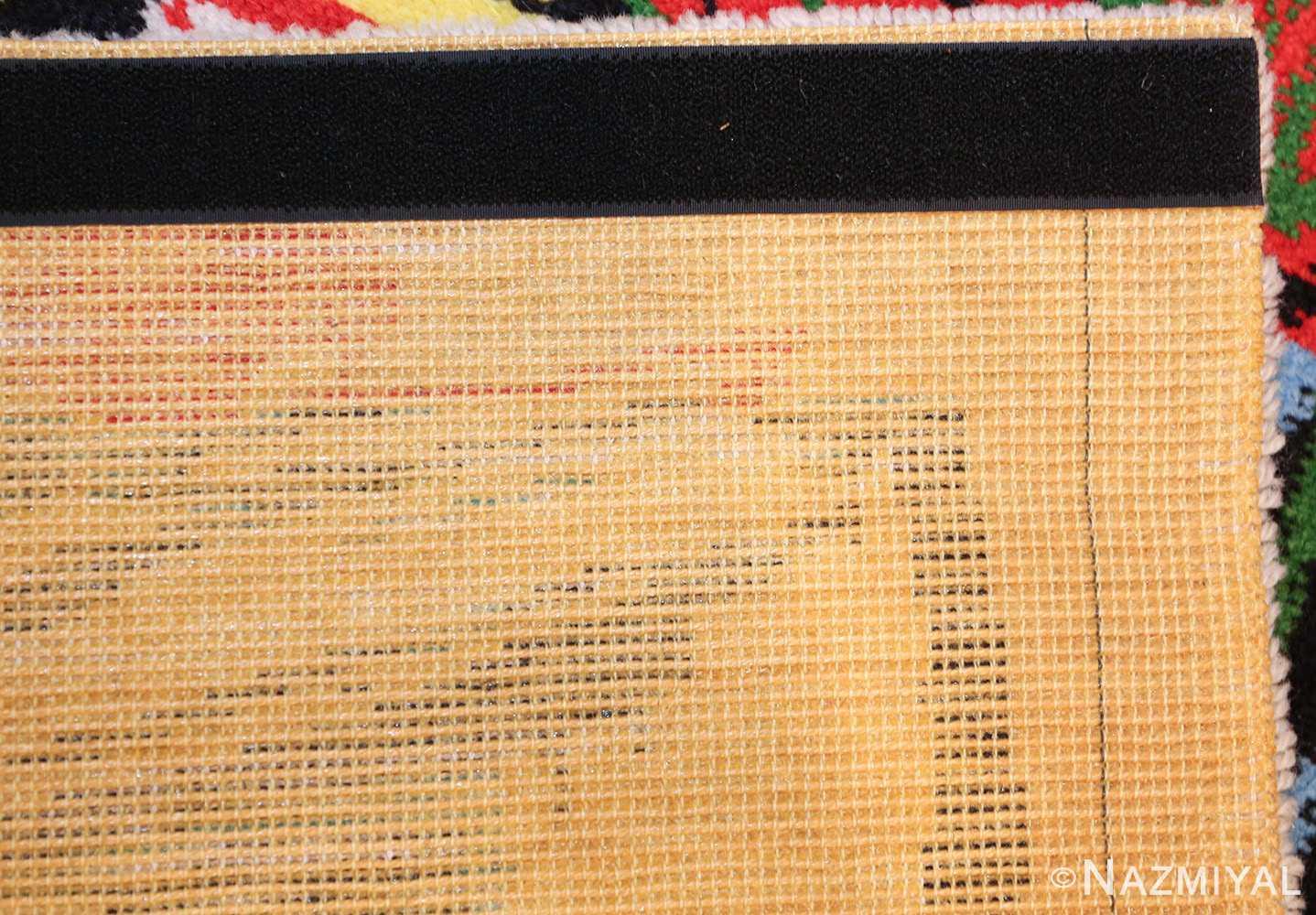 vintage pablo picasso rug 46873 weave Nazmiyal